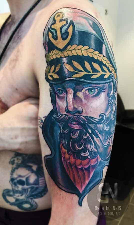 Kapitän Tattoo