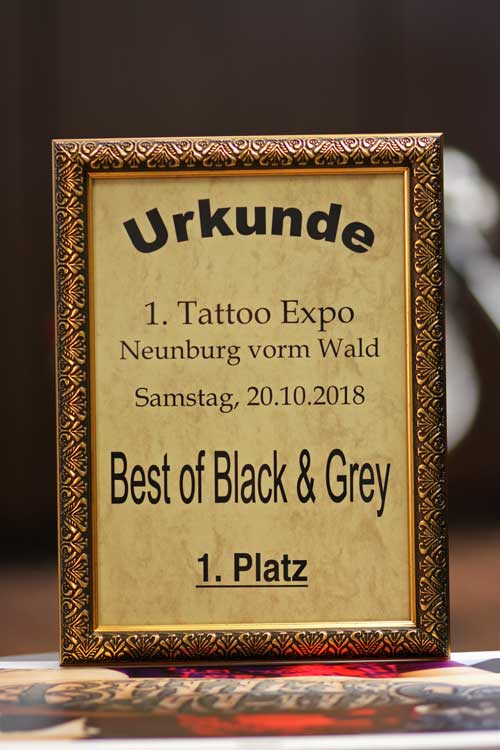 Tattoo Convention Neunburg 2018
